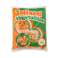 HS Mixed Vegetables 1kg/pkt