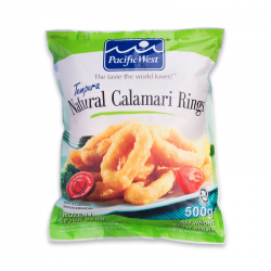 P.West Temp Calamari Ring 500gm