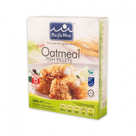 Pacific West Figgy Oatmeal Fish Fillets 280gm