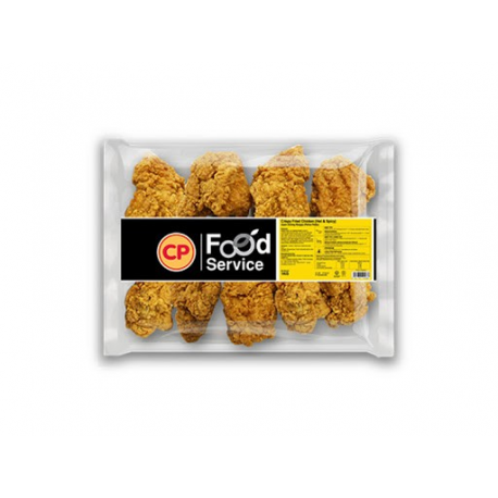 CP Crispy Fried Chicken Hot & Spicy 1kg/pkt