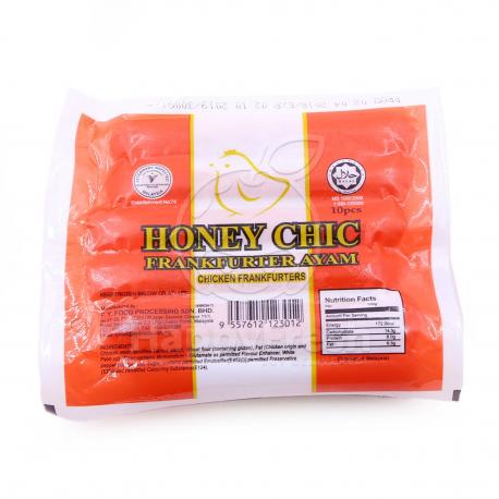 honeychic Chicken Frankfurther 340gm/pkt