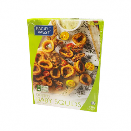 P.West Dusted Baby Squids 300gm