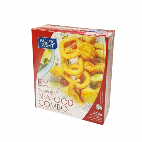P.West Seafood Combo 280gm