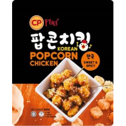 CP Korean Popcorn Chicken 550gm/pkt