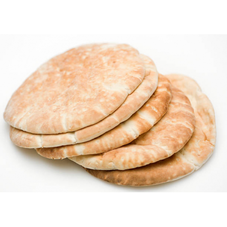 "Pitta Bread 6"" x 6pcs/pkt, 70gm/pcs"