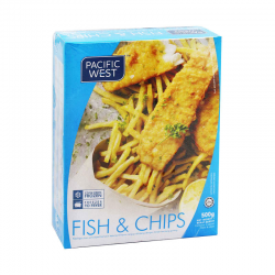 P.West Fish & Chip 500g