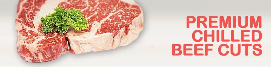 Premium Chilled beef cuts